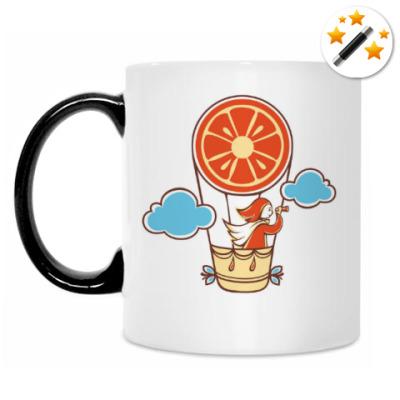 Кружка-хамелеон Апельсинка