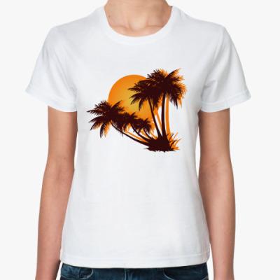 Классическая футболка  Sunset
