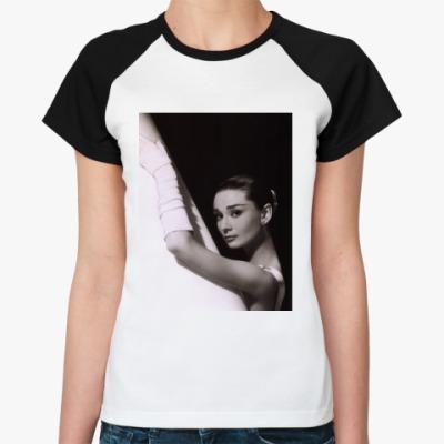 Женская футболка реглан Одри