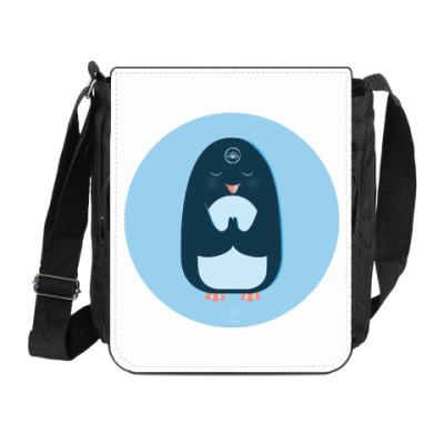 Сумка на плечо (мини-планшет) Animal Zen: P is for Penguin