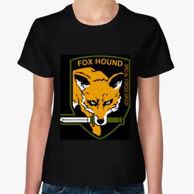 Женская футболка 'Metal Gear' Fox Hound
