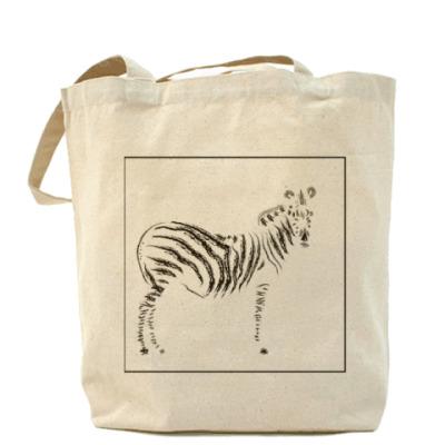 Сумка зебра