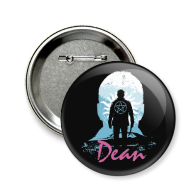 Значок 58мм Dean - Supernatural