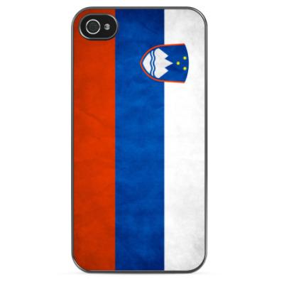 Чехол для iPhone Флаг Республики Словения