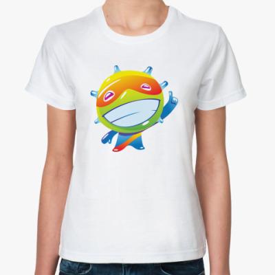Классическая футболка Позитив