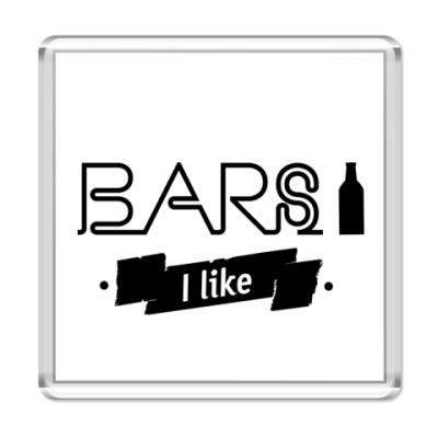 """Магнит """"Bars I like"""""""