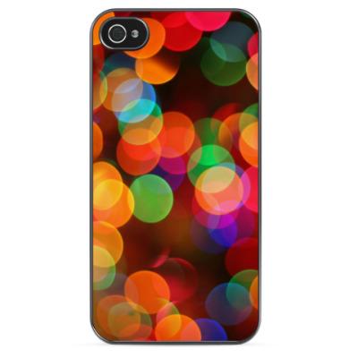 Чехол для iPhone Разноцветное боке