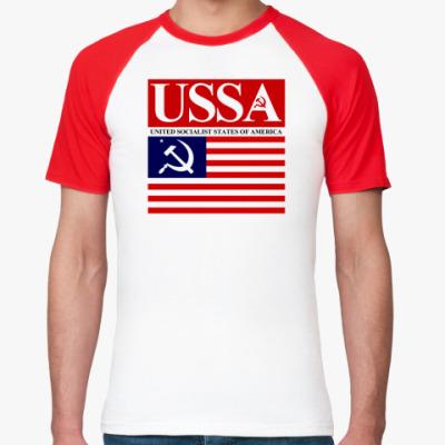 Футболка реглан USSA