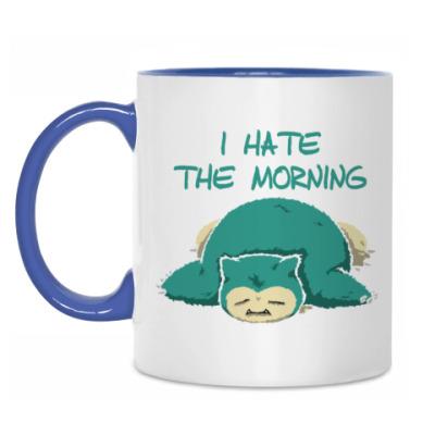 Кружка Я ненавижу утро