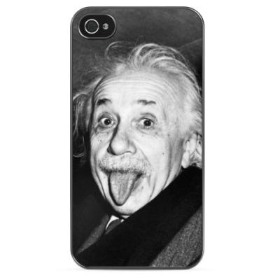 Чехол для iPhone Альберт Эйнштейн