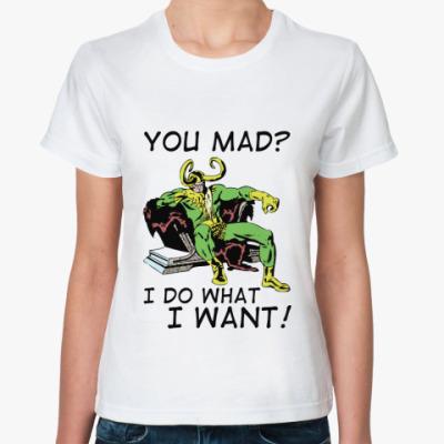 Классическая футболка 'Loki'