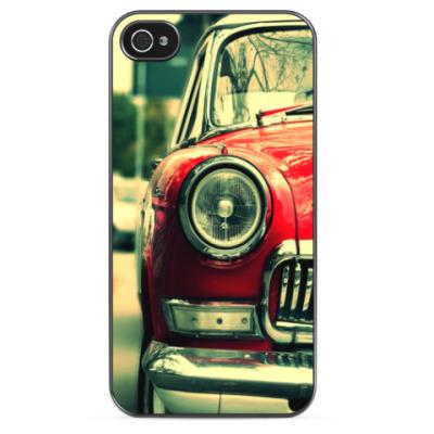 Чехол для iPhone Red car