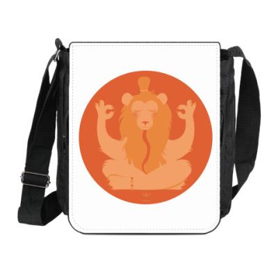 Сумка на плечо (мини-планшет) Animal Zen: L is for Lion