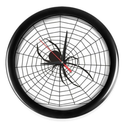 Настенные часы Паутина