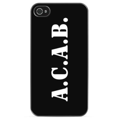 Чехол для iPhone ACAB