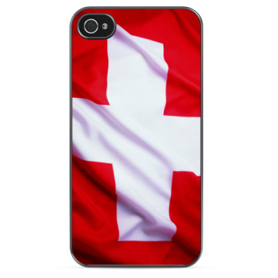 Чехол для iPhone Флаг Швейцарии