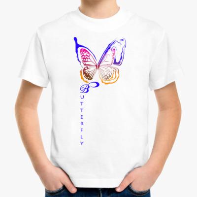 Детская футболка Бабочка
