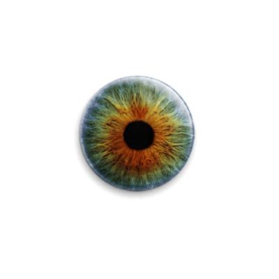 Значок 25мм eye-08  25 мм