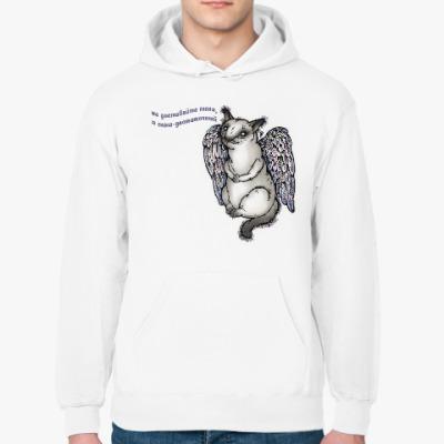 Толстовка худи Самодостаточный кот