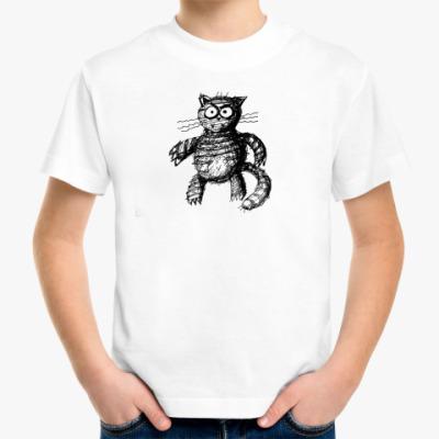 Детская футболка 'Кошатор'