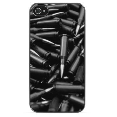 Чехол для iPhone Черные патроны