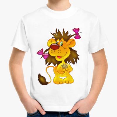 Детская футболка Львица