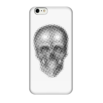 Чехол для iPhone 6/6s skull