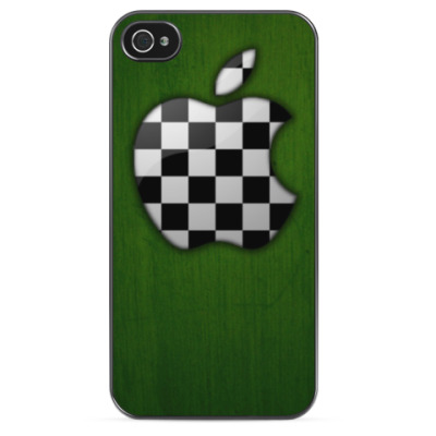 Чехол для iPhone Apple в клеточку