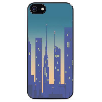 Чехол для iPhone Город