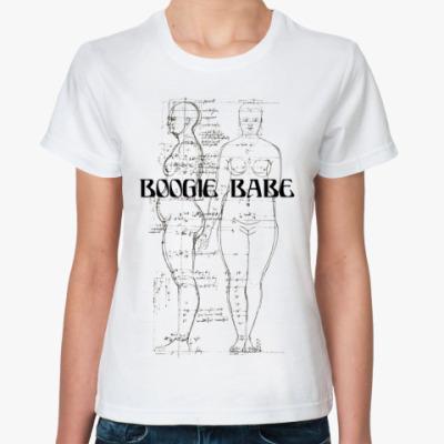 Классическая футболка BOOGIE BABE