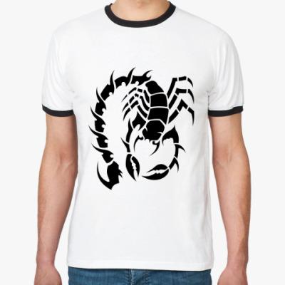 Футболка Ringer-T Scorpion