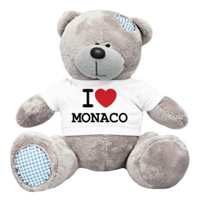 Плюшевый мишка Тедди I Love Monaco