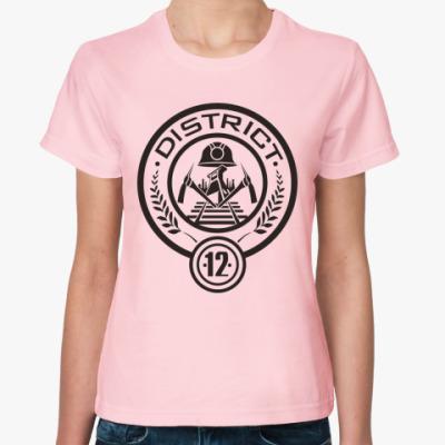 Женская футболка Голодные Игры