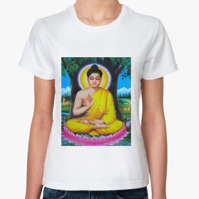 Классическая футболка  Buddha