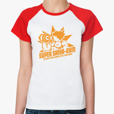 Женская футболка реглан Saiya gym