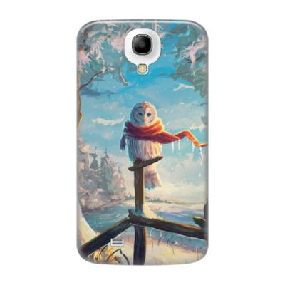 Чехол для Samsung Galaxy S4 White owl