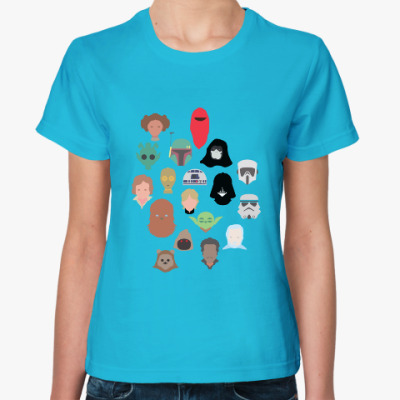 Женская футболка Star Wars