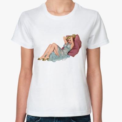 Классическая футболка Вики