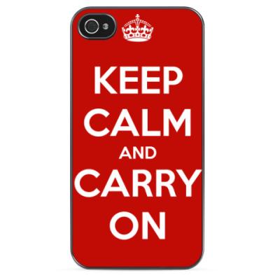 Чехол для iPhone Keep Calm