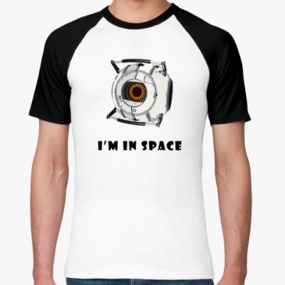 Футболка реглан I'm in Space