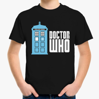 Детская футболка Doctor Who