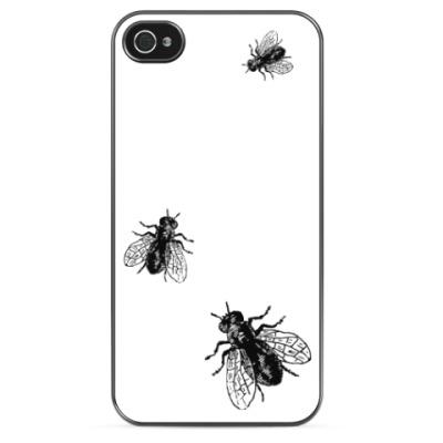 Чехол для iPhone 'Мухи'