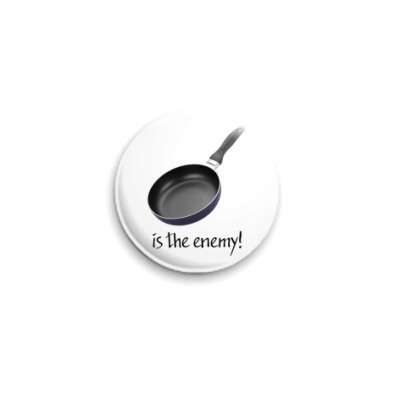 Значок 25мм Enemy