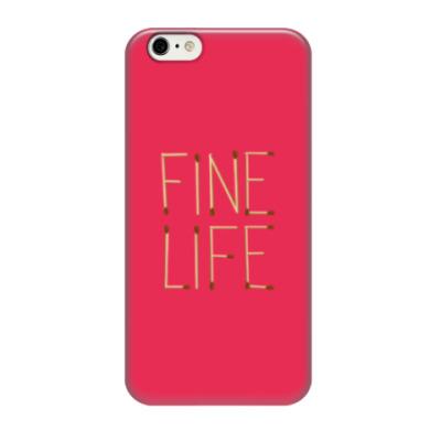 Чехол для iPhone 6/6s Fine Life