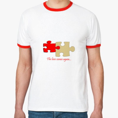Футболка Ringer-T любовR-T  ()