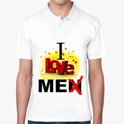 Рубашка поло I love me