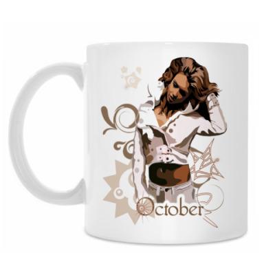 Кружка October