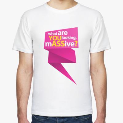 Футболка  футболка YOU ASS3?