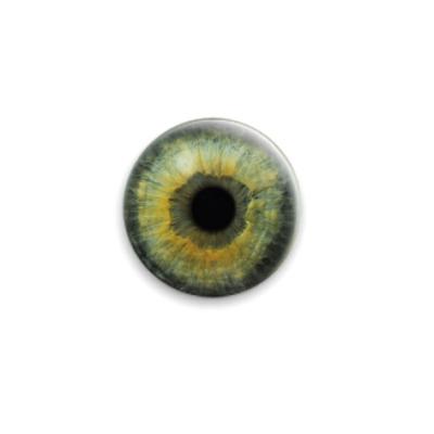 Значок 25мм eye-14  25 мм