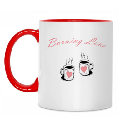 Кружка burning love